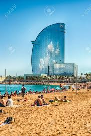 100 The W Barcelona BARCELONA AUGUST 10 Hotel Aka Hotel Vela Designed
