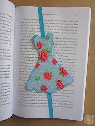 Elastic Band And Fabric Make A Solid Bookmark