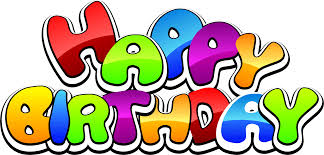 Happy Birthday Text Clipart library