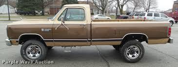 100 1987 Dodge Truck W250 Pickup Truck Item CB9904 SOLD April 26