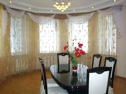 Casual Dining Room Curtain Ideas Fancy Curtains For With