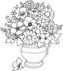Coloring Pages Amusing Flower Flowers For Adults Free Printable And Butterflies