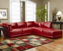 rotes sofa ins innendesign einbeziehen inspirierende rote