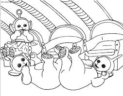 Télétubbies 101 Dessins Animés Coloriages à Imprimer