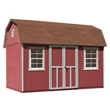 8x12 Storage Shed Materials List by Backyard Discovery Ready Shed John Deere 8 X 12 Prefab Wood