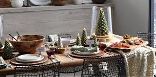 Christmas Centerpieces For Dining Room Tables by Christmas Decorations For Home And Tree Crate And Barrel