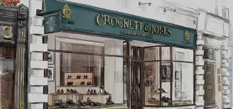 100 Crocket Architecture Handmade Shoes Boots Made In England T Jones