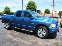 Atlantic Blue Pearl 2003 Dodge Ram 1500 SLT Quad Cab 4x4 Exterior ...