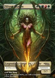word of commander my decks 2 sliver queen