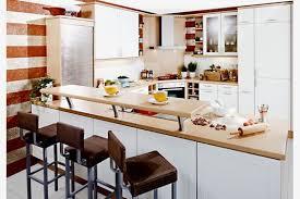 einbauküche mit raumteiler theke modell 2052