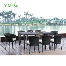 8 Person Outdoor Table by Rattan Rattan Suppliers And Manufacturers At Alibaba Com