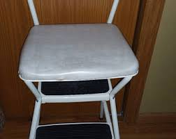 Cosco Counter Chair Step Stool by Cosco Step Stool Etsy