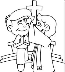 Beautiful Lent Coloring Pages 50 About Remodel Line Drawings With