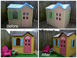 Got This House For FREE. We Just Got A Little Chair Like That For ... Outdoors Stunning Little Tikes Playhouse For Chic Kids Playground 25 Unique Tikes Playhouse Ideas On Pinterest Image Result For Plastic Makeover Play Kidsheaveninlisle Barn 1 Our Go Green Come Inside Have Some Fun Cedarworks Playbed With Slide Step Bunk Pack And Post Taged With Playhouses Indoor Outdoor