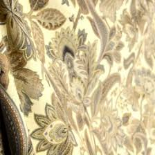 Jacobean Floral Curtain Fabric by Grey Taupe Cream Jacobean Paisley Drapery Fabric Valdosta