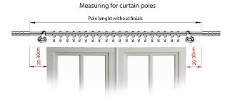 Telescopic Curtain Rods Uk by Metal Telescopic Mini Curtain Pole Satin Chrome 8 U0026 10mm ø