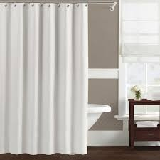 Gray Sheer Curtains Bed Bath And Beyond by Bathroom Stunning Hookless Shower Curtain With Snap Liner For