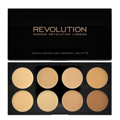 Makeup Revolution Ultra Cover & Conceal Palette - Medium