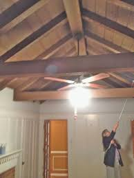 Hanging Drywall On Ceiling Joists by Rosa Beltran Design Exposed Wood Beams And White Painted Ceilings