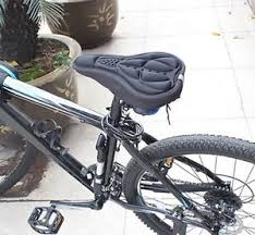 siege velo vtt housse de selle vélo confortable gel confort 3d vtt doux haute