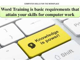 How To Word Your Computer Skills On A Resume by Word Is Basic Requirements That Attain Your Skills For Compu