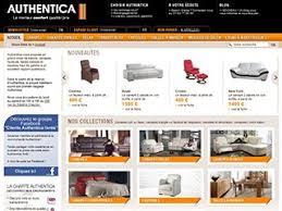 canap authentica vente en ligne de canapés cuir ou tissus