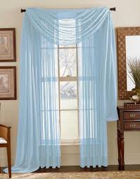 Bed Bath And Beyond Sheer Kitchen Curtains by Blue Sheer Curtains Peacock Color Drapes Thick Dark Blue