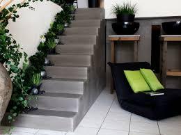 beton cire sur escalier bois quel est votre style d escalier décoration