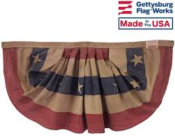 Halloween Cemetery Fence Finials by Patriotic Bunting Fans U0026 Pleated Fans For The 4th Of July