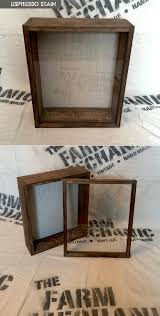 14x17x2 Shadow Box Rustic Display Case Artisan