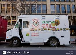 Mexican Food Catering Truck - USA Stock Photo: 78760648 - Alamy