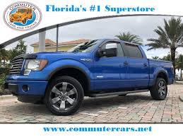 100 Ford Trucks For Sale In Florida Used 2012 F150 FX4 4X4 Truck Stuart FL CFA10193D
