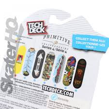 Tech Deck Finger Skateboard Tricks by Tech Deck Primitive Peacock Trouble Series 4 Skater Hq