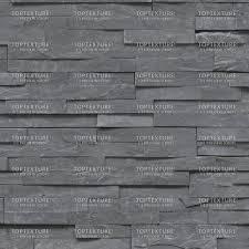 Black Layered Wall Stone Cladding