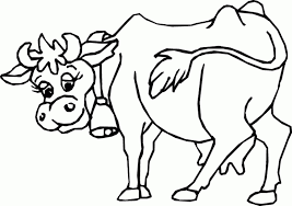 Cow Coloring Pages Getcoloringpages With Of Cows