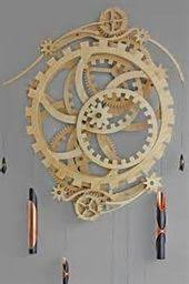 scroll saw wooden gear clock plans 103145 the best image search