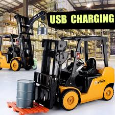 100 Toy Forklift Truck Ao Hai 3828 18 11CH Rc Car With Light Music