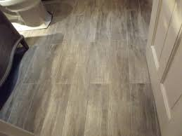 Home Depot Tile Look Like Wood by Black White Tile Bathroom Floor White Washbasin Match For Small