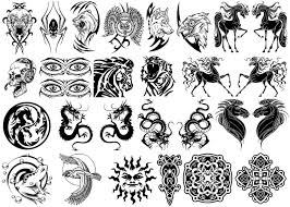 New Tribal Chinese Dragon Tattoos For Men