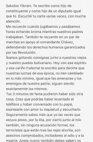 La Plomada El Hijo Del Presidente Maduro Contesta Carta A Yibram