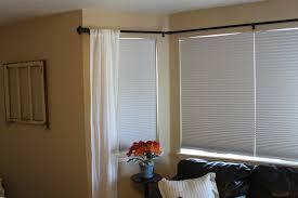Target Curtain Rod Finials by Ideal Corner Curtain Rod Window U2014 The Homy Design