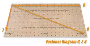 Underlayment Fastener Diagram 8
