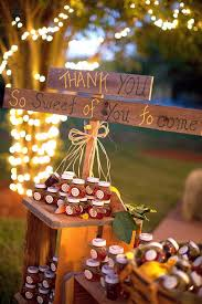 Rustic Wedding Ideas Favors Jam