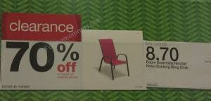 Stack Sling Patio Chair Tan by Target Stacking Sling Patio Chair 7 83 Ftm