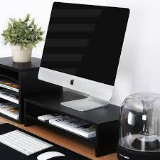 Monitor Stands For Desk by Best 25 Monitor Stand Ideas On Pinterest White Desks Computer