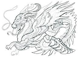 Cool Dragon Coloring Pages Beautiful Dragons And Printable For Adults Free