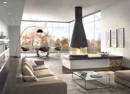 stunning modern living room with an amazing fireplace livinator