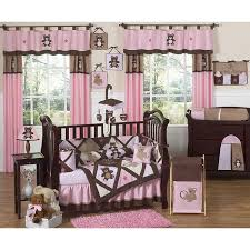 sweet jojo designs pink teddy bear 9 piece crib bedding set free