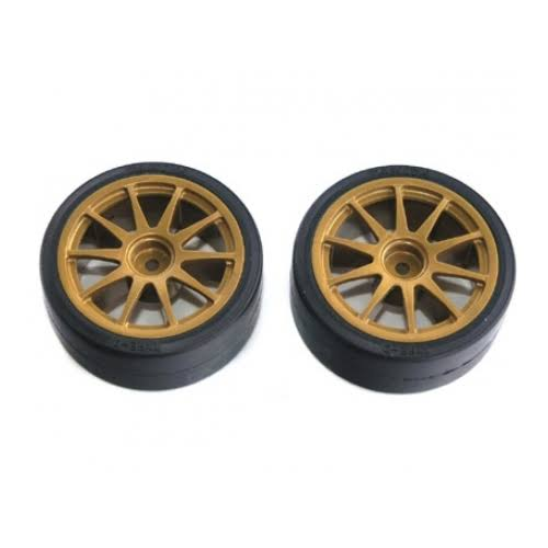 Tamiya SP1219 Rc Drift Tires Type D & Wheels