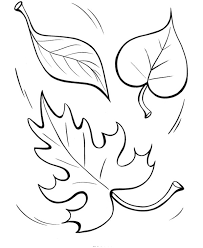 Easy Shapes Coloring Pages Free Printable Fall Leaves Featuring Pre K And Primary
